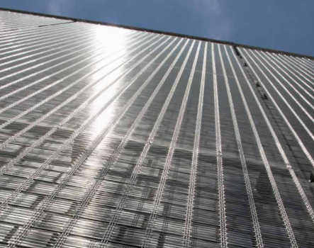 The dimensions of the stainless steel architectural mesh