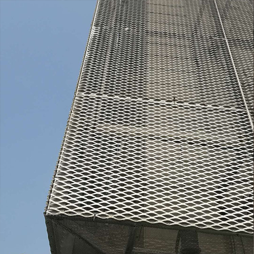 Industrial Architectural Expanded Metal Mesh