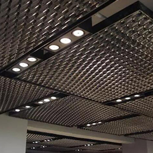 Aluminum Expanded Mesh Ceiling